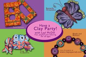 Layl McDill Clay Parties