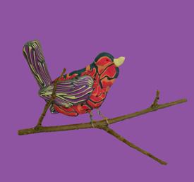 Sparrow on a Stick