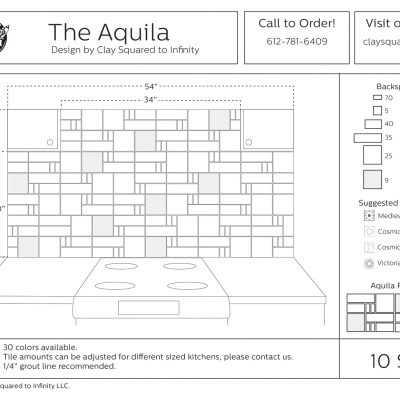 Aquila Kitchen Drawing