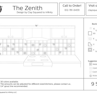 Zenith Kitchen Drawing