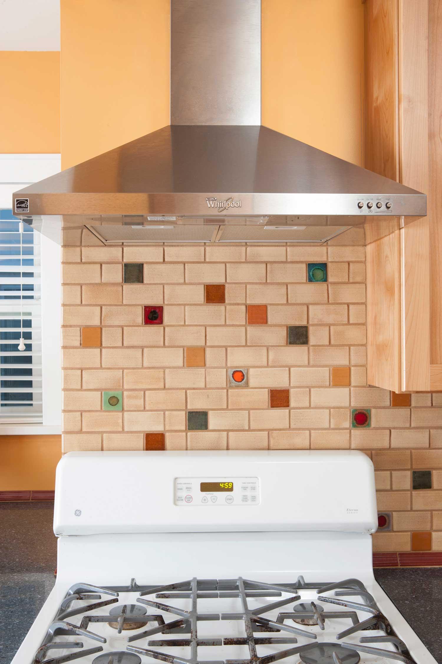 The Hopkins Kitchen Modern Bungalow Subway Tile Backsplash