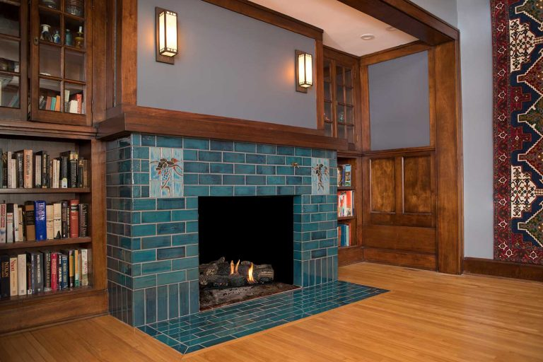 tile fireplace mission aurora
