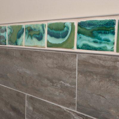 Brown Contemporary Bathroom Andromeda Border Coop Cosmic Corner Copy