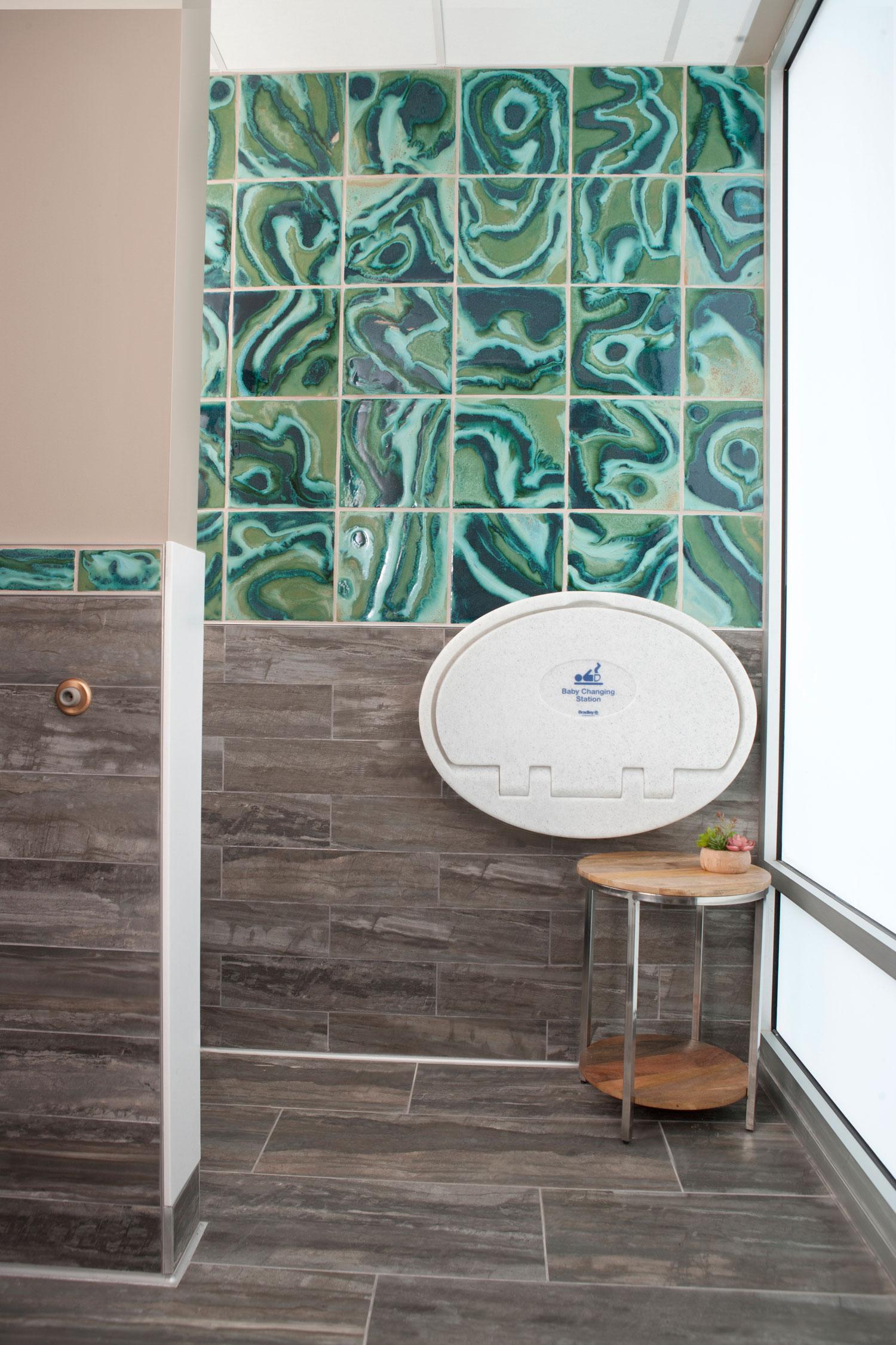 Brown Contemporary Bathroom Border Coop Cosmic Hero Copy