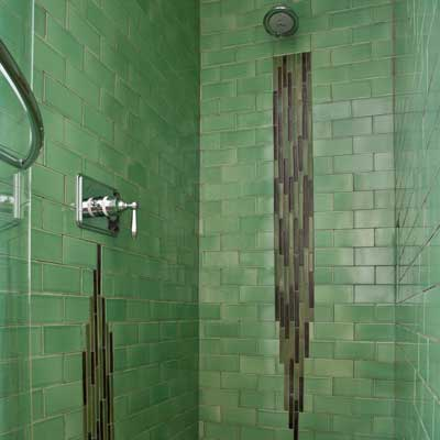 Handmade And Vintage Ceramic Tile Bathroom Gallery