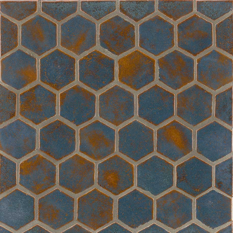 Hexagon Coco Moon Color Shape Tile