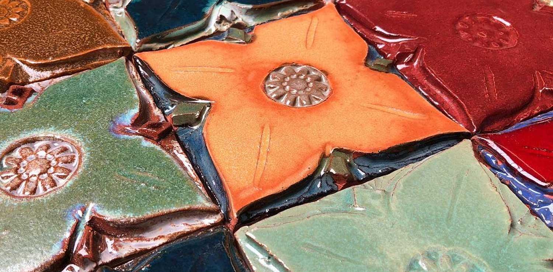 Medieval Floral Tiles Hero