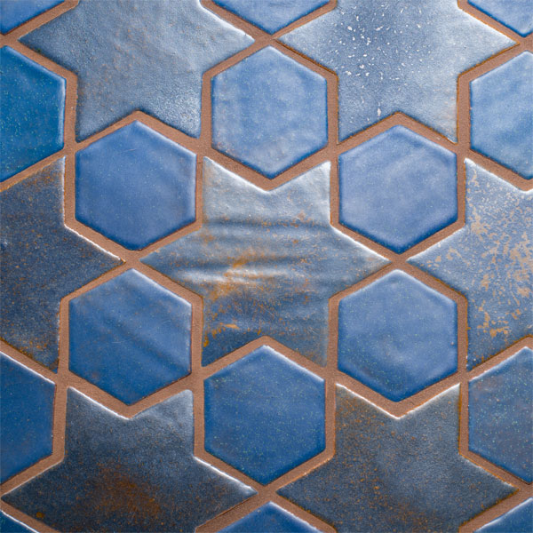 Tile Star Hex Pattern