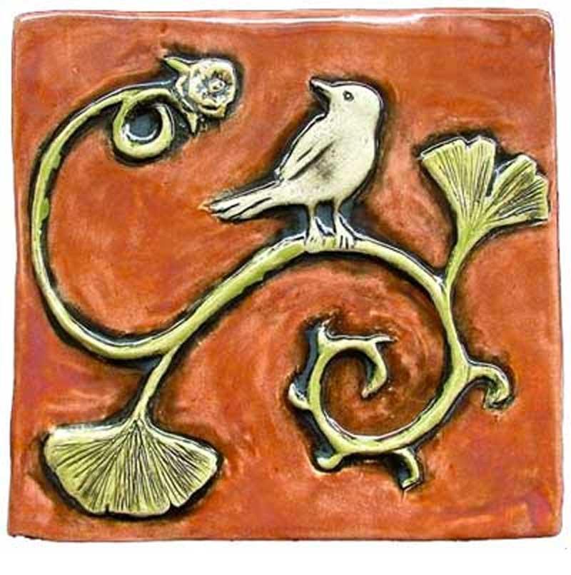 Carol Dean Painted Bird Ginkgo Hero