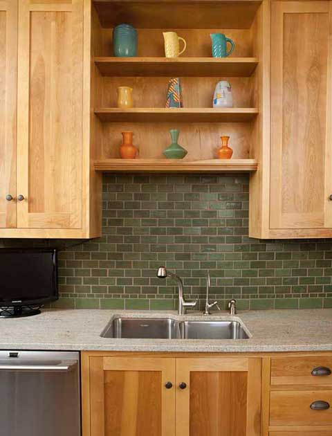 Vermont Kitchen Backsplash