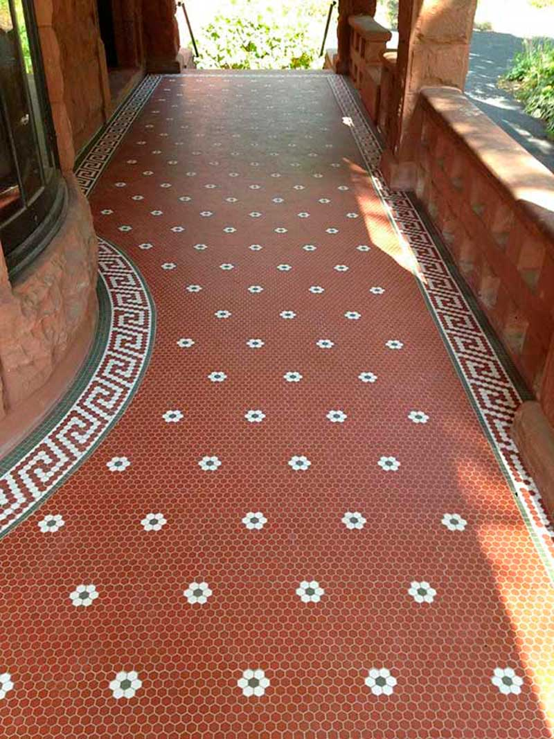 Historic Mosaic Hex Floor