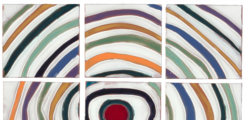 Mulit Color Art Saturn Ring Swing Hero