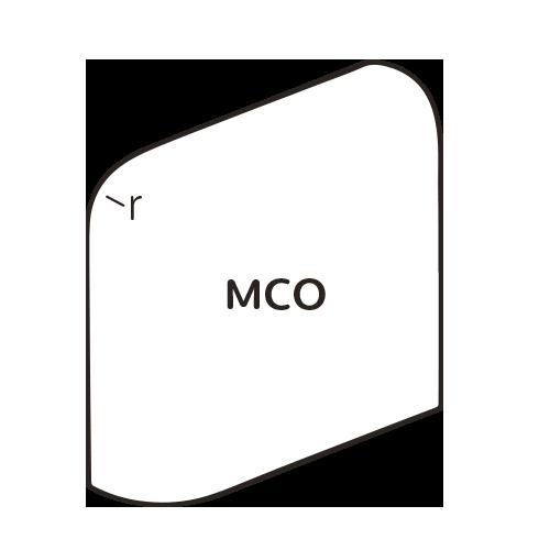 Mid Century Mud Cap Outcorner