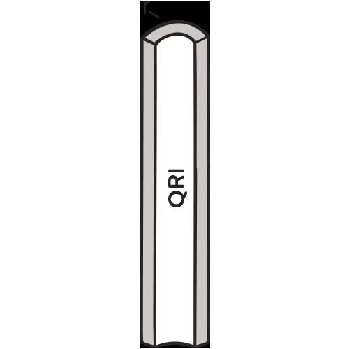 Mid-Century Quarter Round Incorner