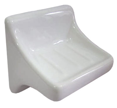 768 Soap Holder L Bone