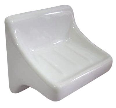 768 Soap Holder L Bone