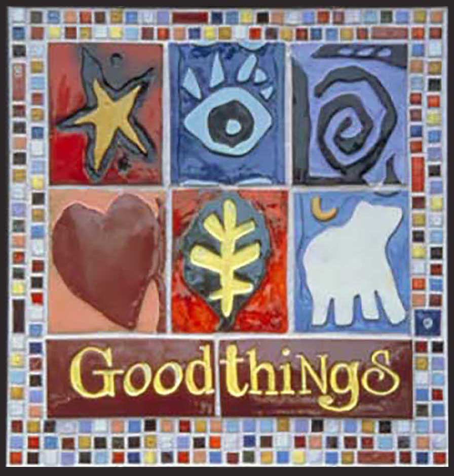 Goodthings Tiled Signage