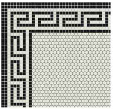 Ionic Greek Key Border
