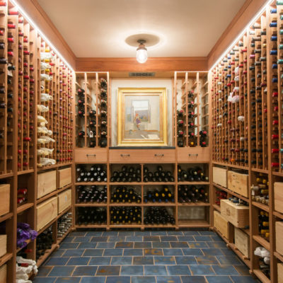 Blue Spanish Wine Cellar Floor Tile