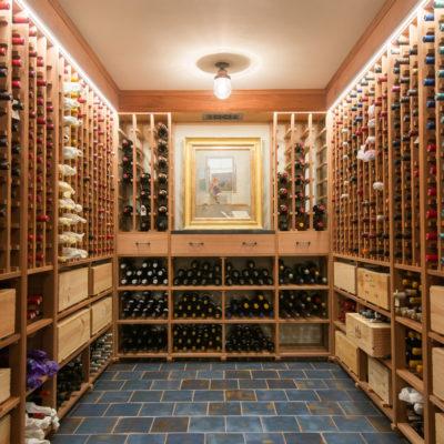 Blue Spanish Wine Cellar Floor Tile