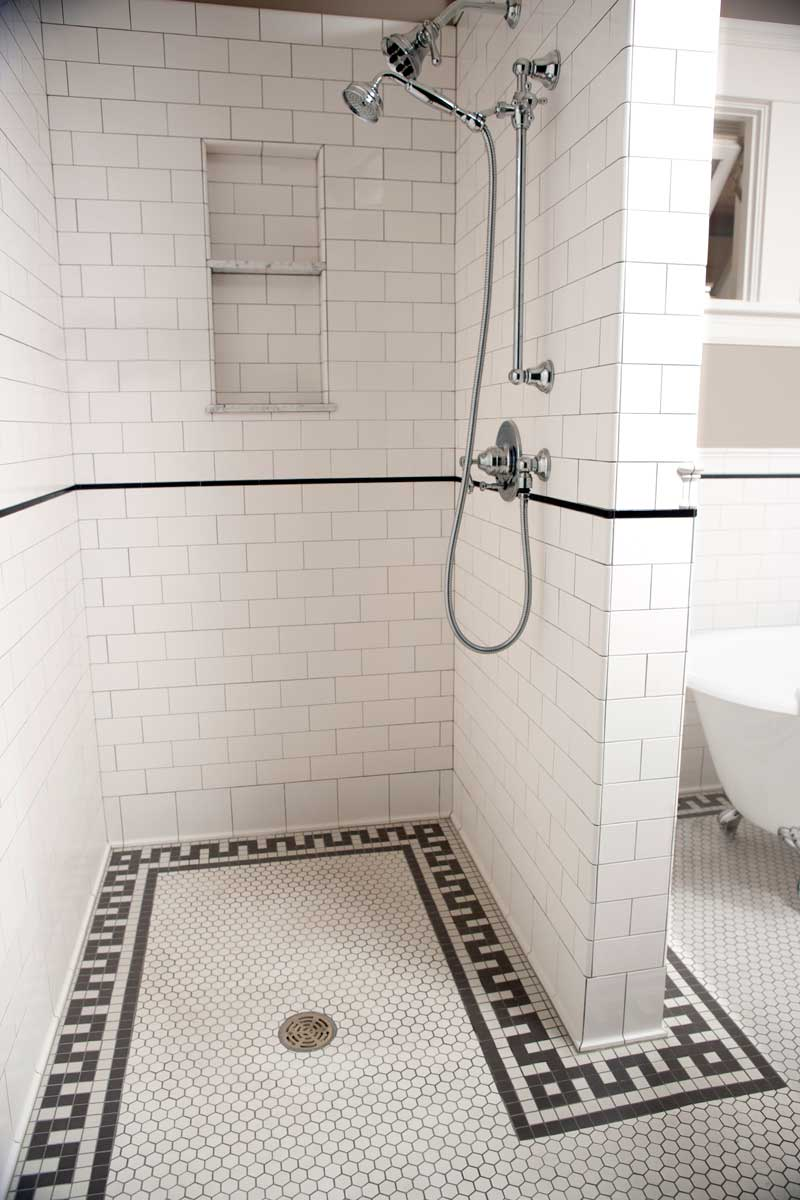 Tile Projects Bathroom Classic Flat Edge Subway