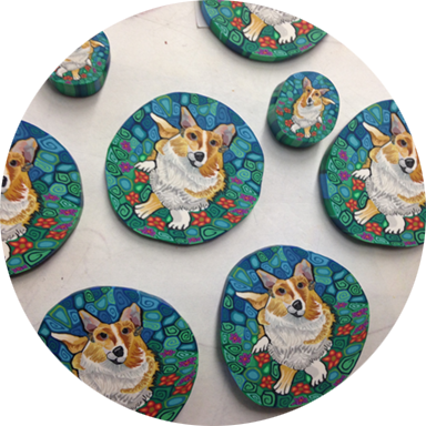 Corgi Silly Millies