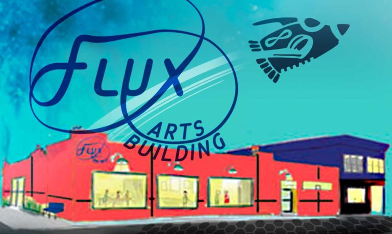 Clay Squared Flux Arts Building