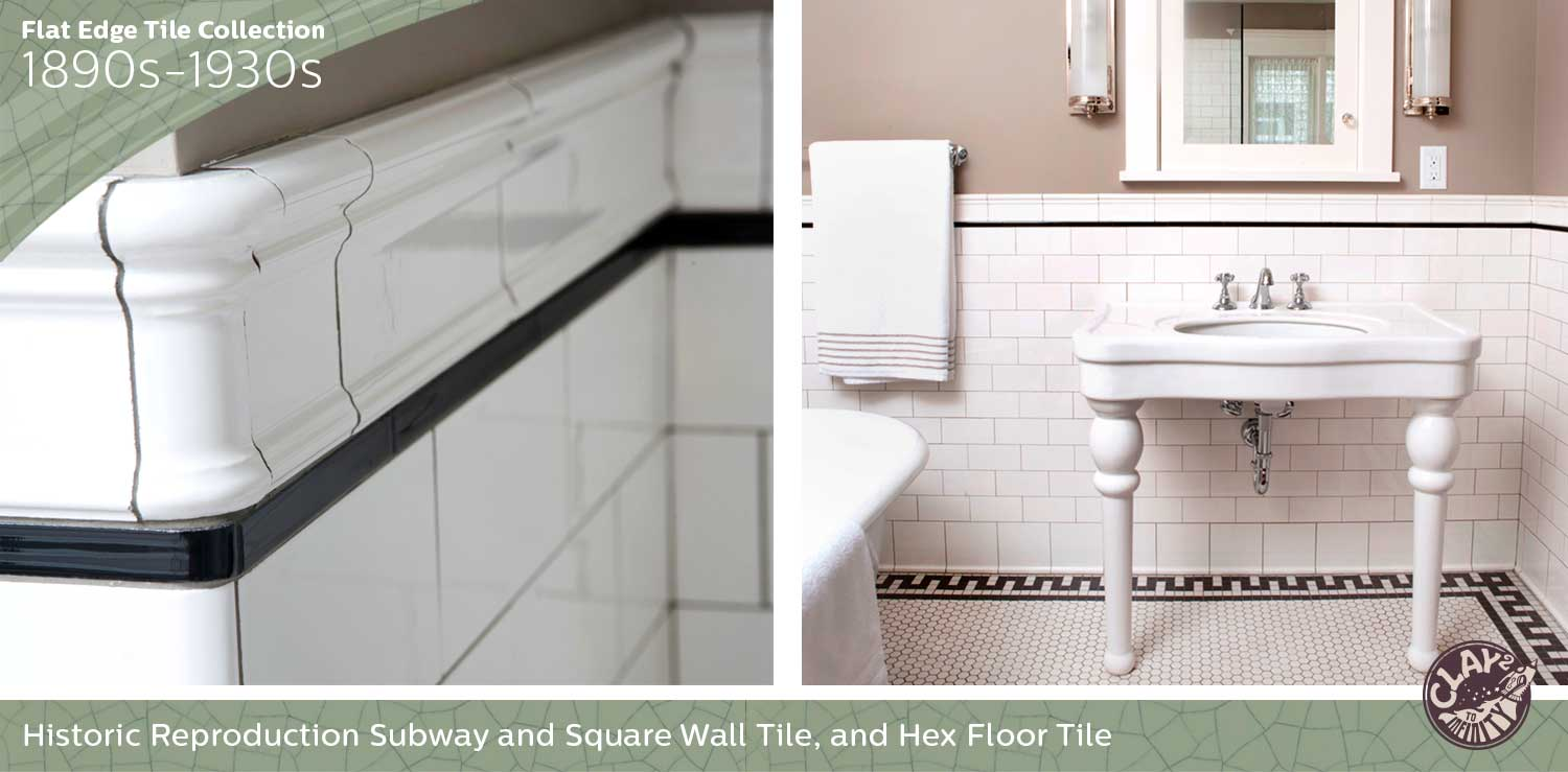 Flat Edge Tile Collection