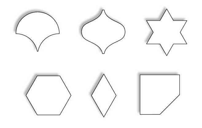 Tile Sizes Shapes 01