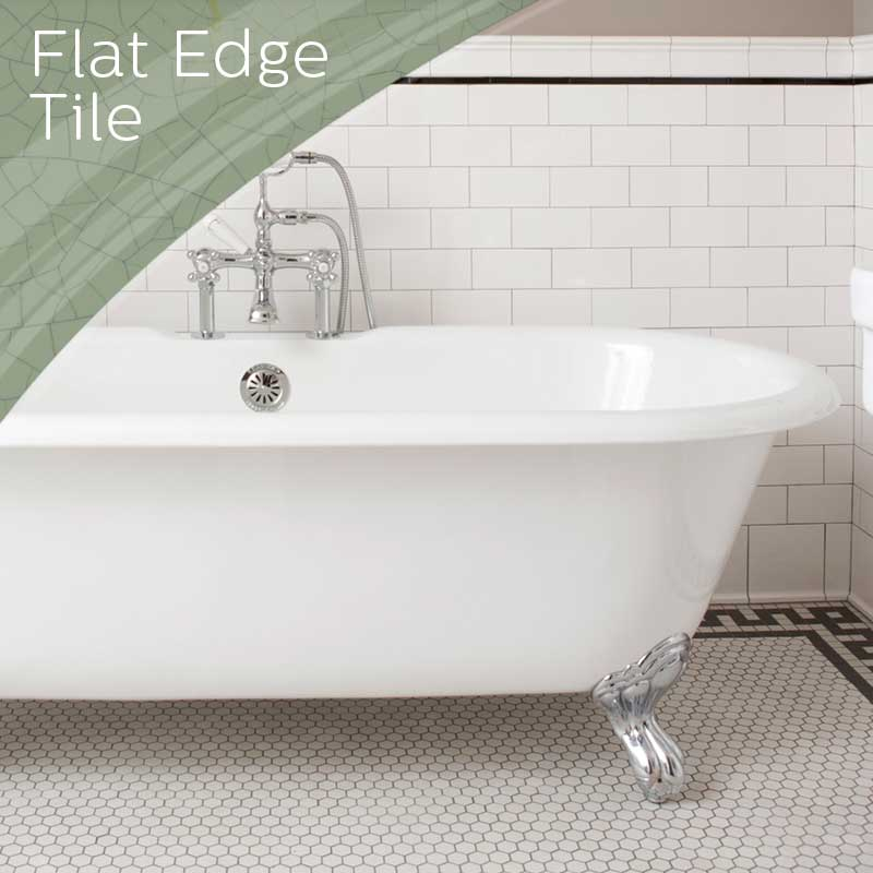 Flat Edge Tile Project Gallery
