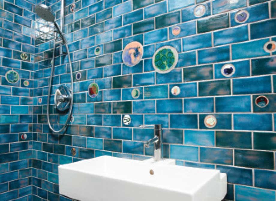 Handmade Bathroom Tile