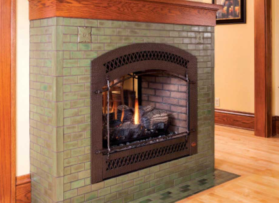 Handmade Fireplace Tile