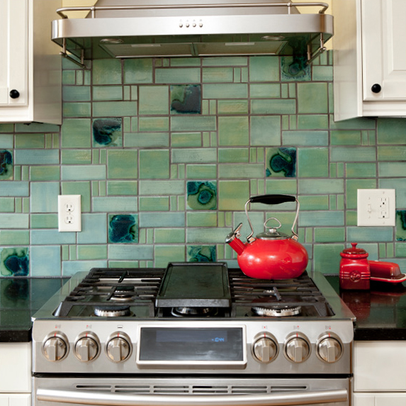 Handmade Aquila Kitchen Tile