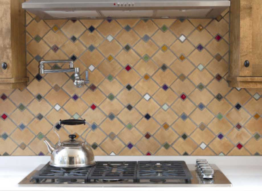 Handmade Kitchen Tile