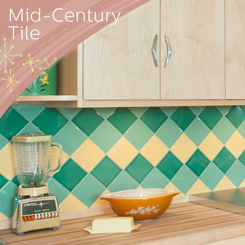 Mid Century Tile Project Gallery