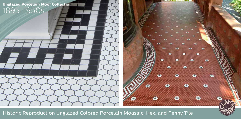 Unglazed Porcelain Floor Collection