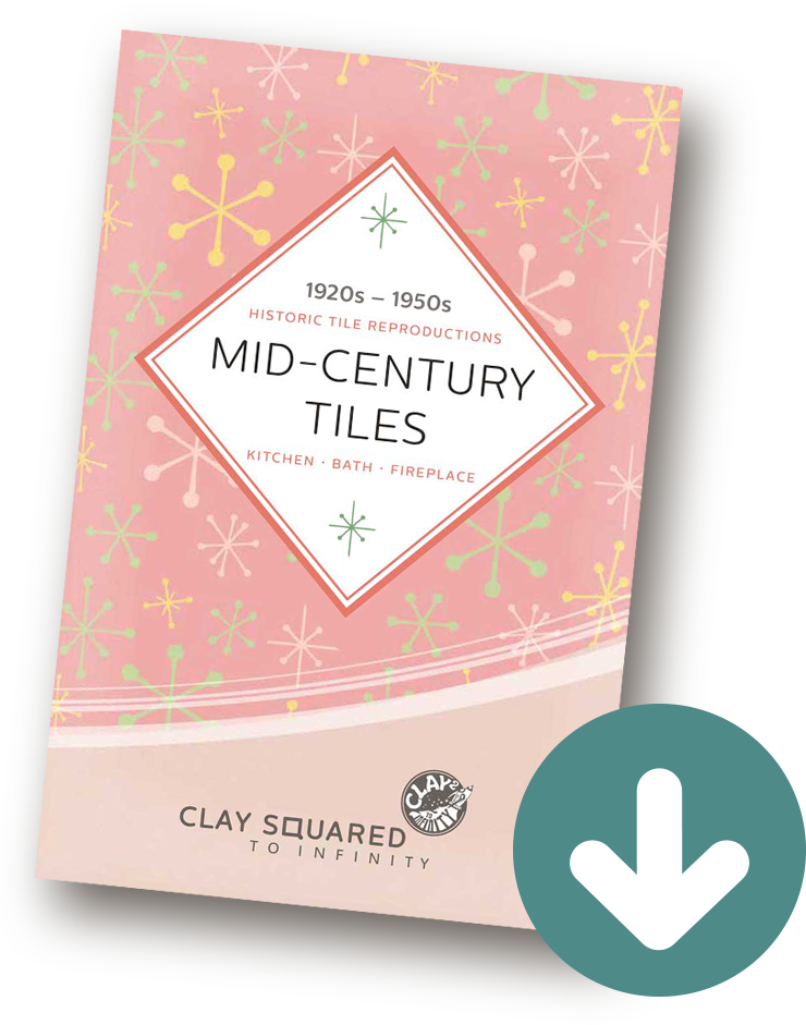 Clay Squared Mid Century Tile Catalog 2019