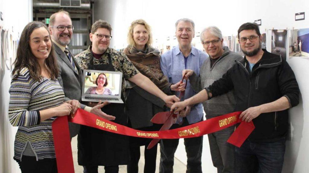 Flux Arts Building Ribbon Cutting