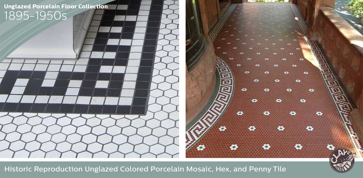 Unglazed Porcelain Floor Collection