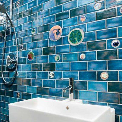Cosmic Orb Blue Shower