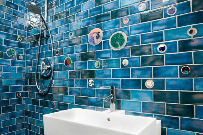 Cosmic Orb Blue Shower
