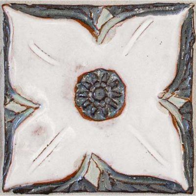 Floral Accent Tile