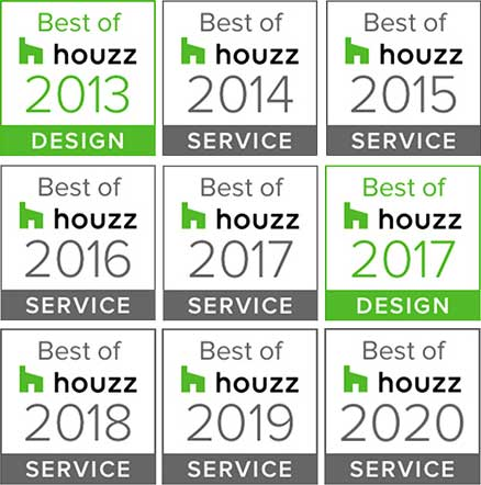 Best Of Houzz 2013-2020