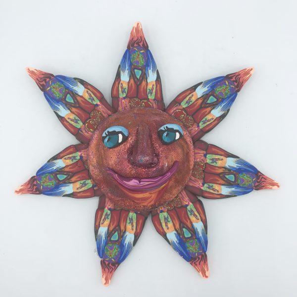 Red Sun Wall Piece