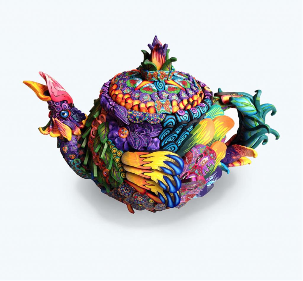Chicken Teapot