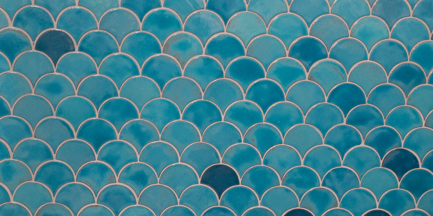 Robins Egg Blue Modern Bathroom Tile Peacocks Hero